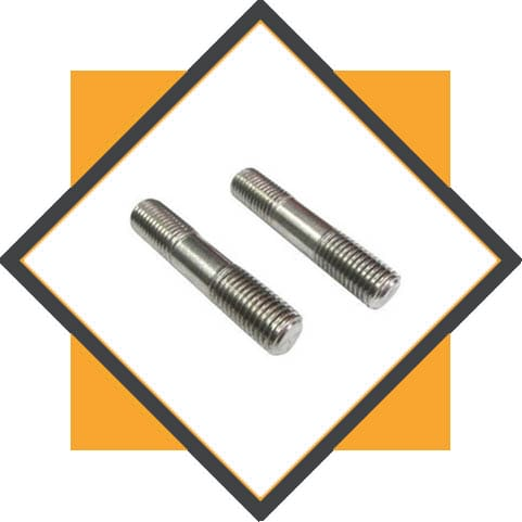 Half Threaded Stud Bolts