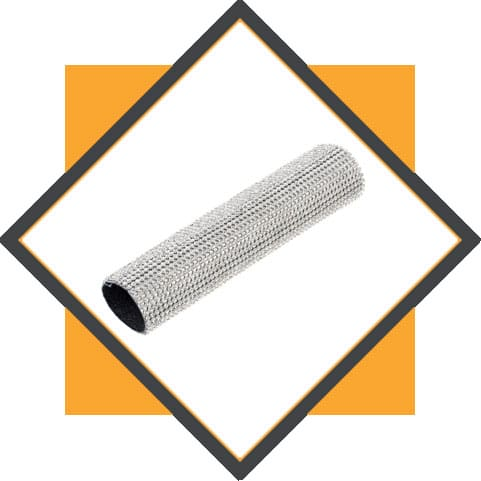Stainless Steel Micro Textured Tube