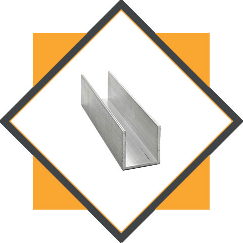 Stainless Steel 321 / 321H U Channel