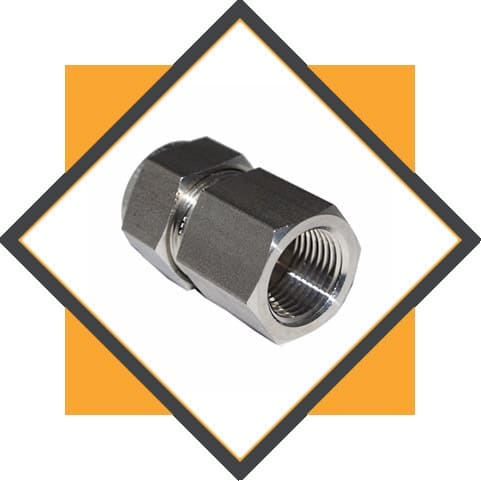 Stainless Steel 304 / 304L / 304H Tube to Female Fittings